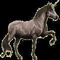 Riding unicorn Purebred Spanish Horse Mouse Gray