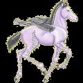 Pegasus Irish Hunter Fleabitten Gray