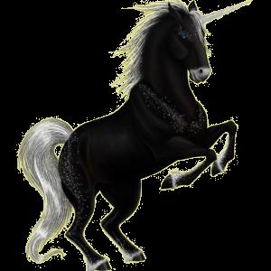 Riding unicorn Russian Don Horse Bay