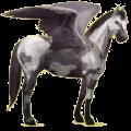 Pegasus Paint Horse Cherry bay Tobiano