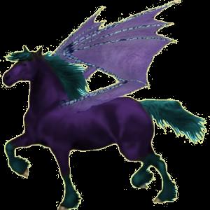 Pegasus pony Newfoundland Pony Dun
