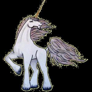Riding unicorn Arabian Horse Chestnut