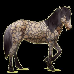 Riding Horse Brumby Light Gray