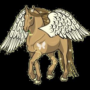 Riding pegasus Purebred Spanish Horse Light Gray