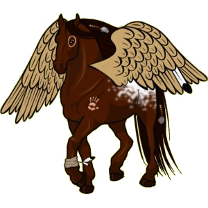 Pegasus pony Chincoteague Pony Bay