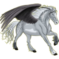 Pegasus Hanoverian Mouse Gray