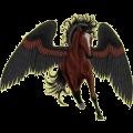 Pegasus Quarter Horse Cherry bay