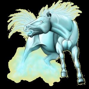 Riding Horse Paint Horse Dapple gray Tobiano