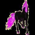 Riding pegasus Arabian Horse Dapple Gray