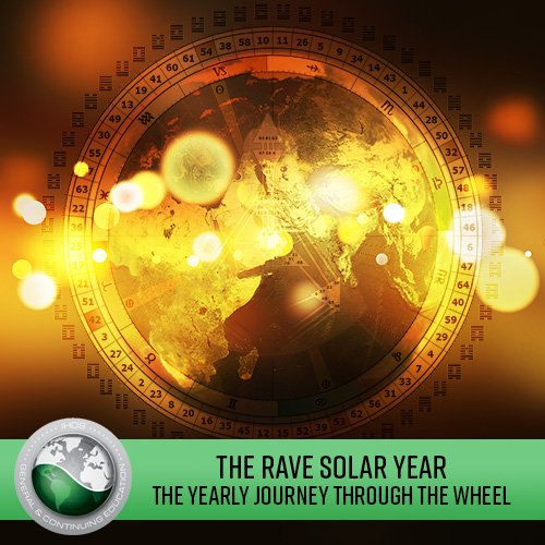 The RAVE SOLAR YEAR - The Yearly Journey through the Wheel