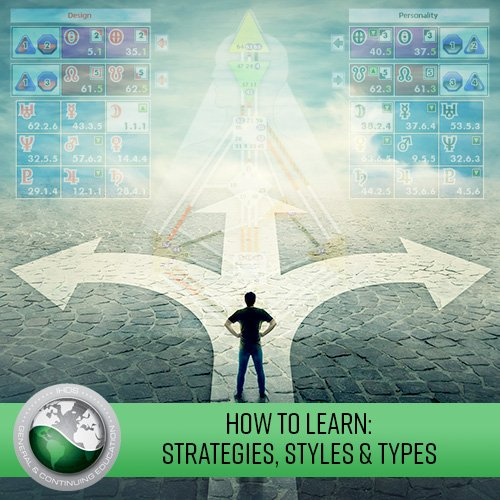 How to Learn: Strategies, Styles and Types