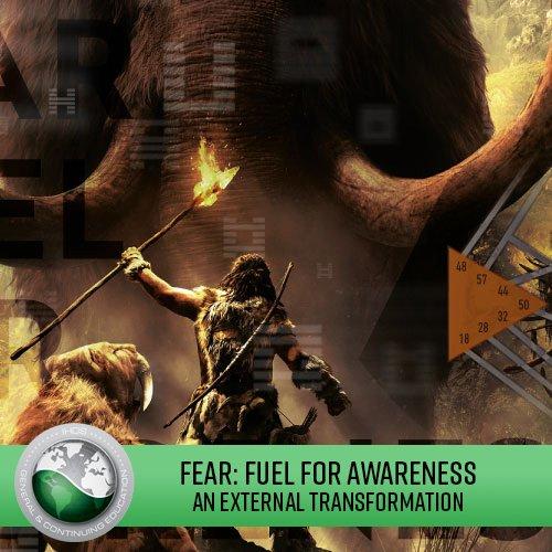 FEAR: FUEL FOR AWARENESS An External Transformation