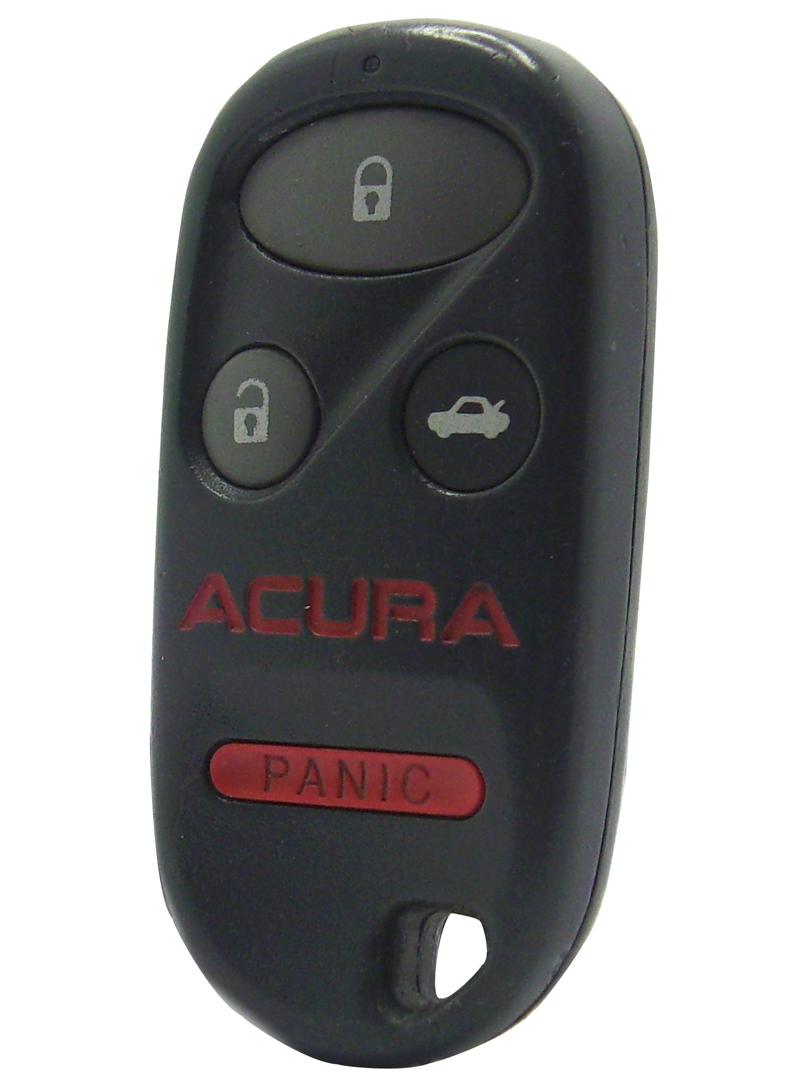 Acura Keyless Entry Remote - 4 Button w/ Car Trunk