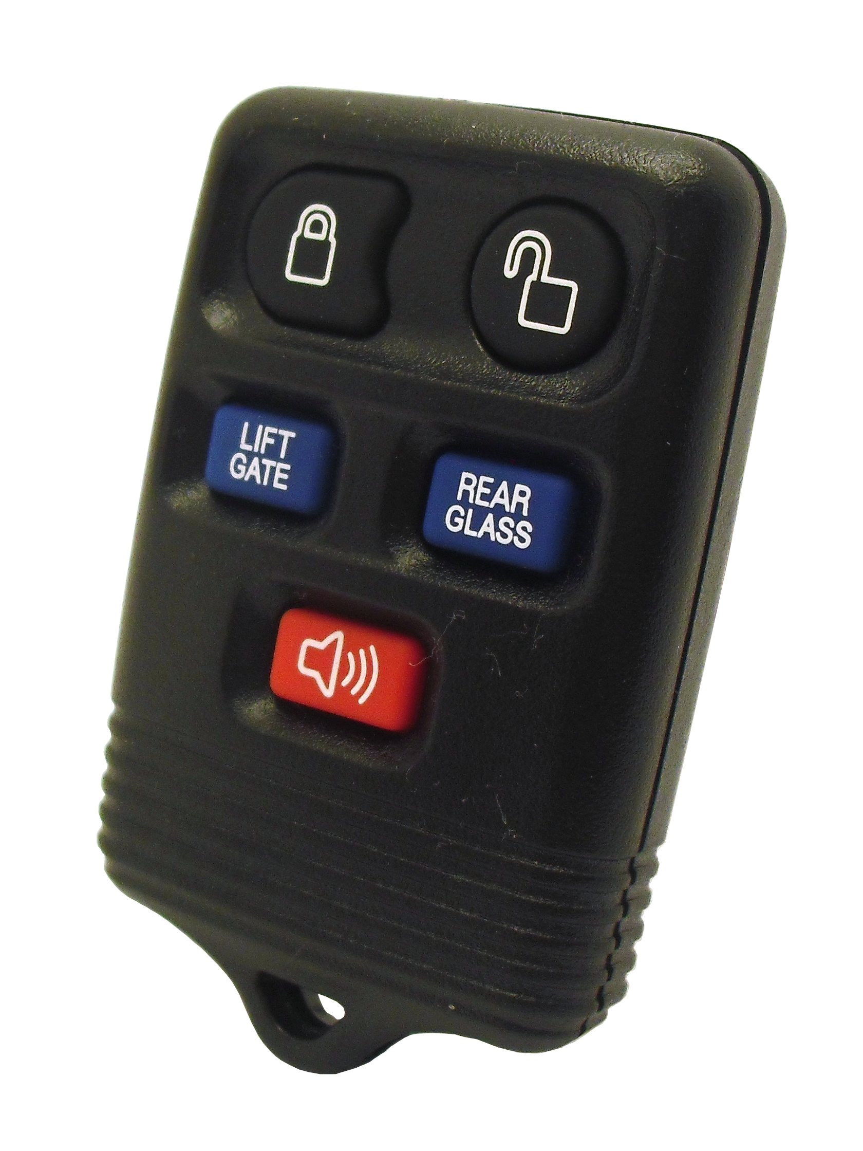 "Ford / Lincoln Keyless Entry SUV Remote - 5 Button with ""Power Glass"" and ""Power Lift Gate"""