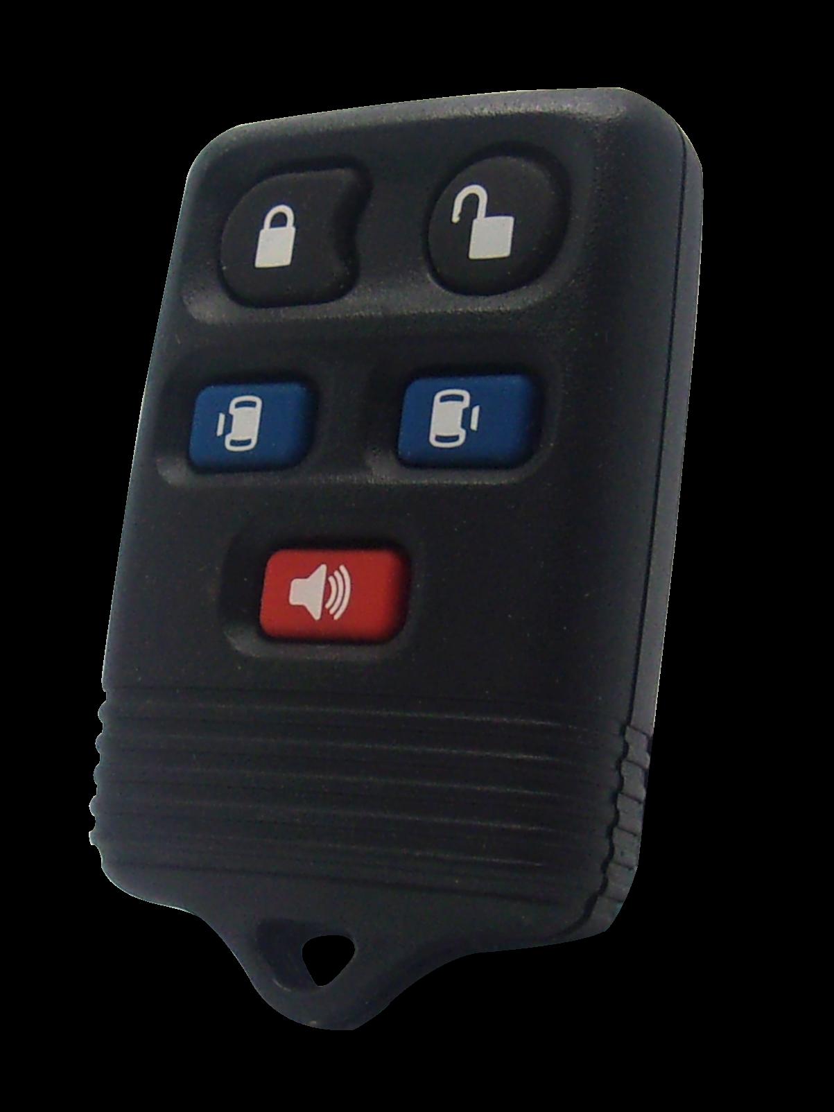 Ford / Mercury Keyless Entry Minivan Remote - 5 Button