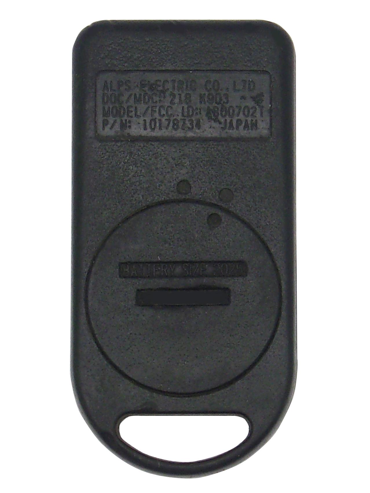 GM Keyless Entry Remote - 4 Button