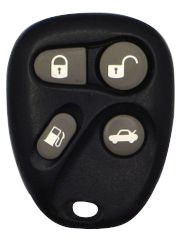 Cadillac Keyless Entry Remote - 4 Button