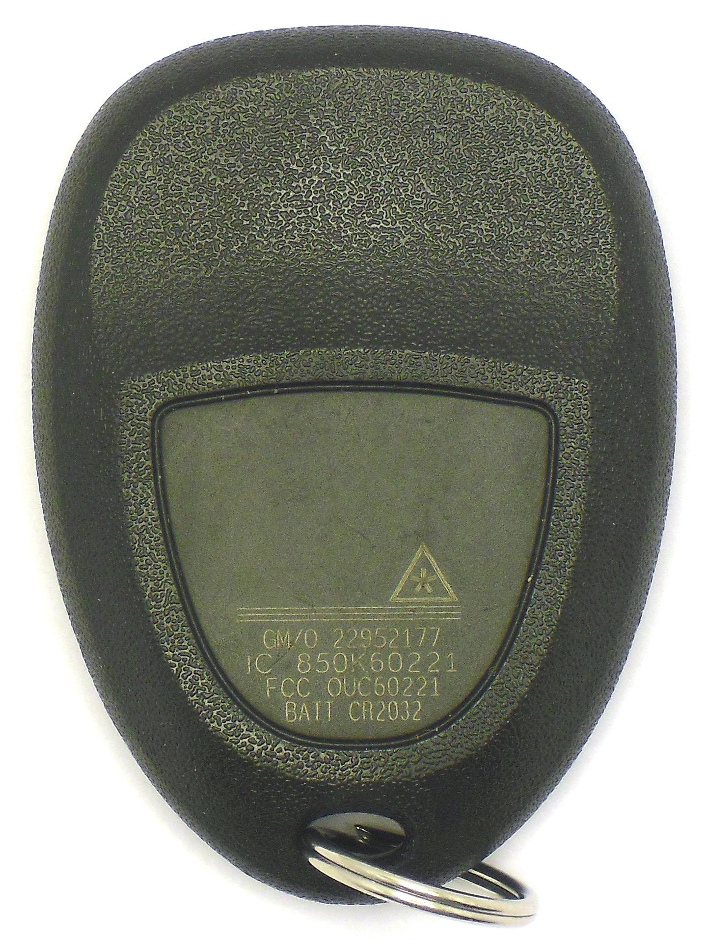 GM Keyless Entry Car Remote - 4 Button w/ Trunk