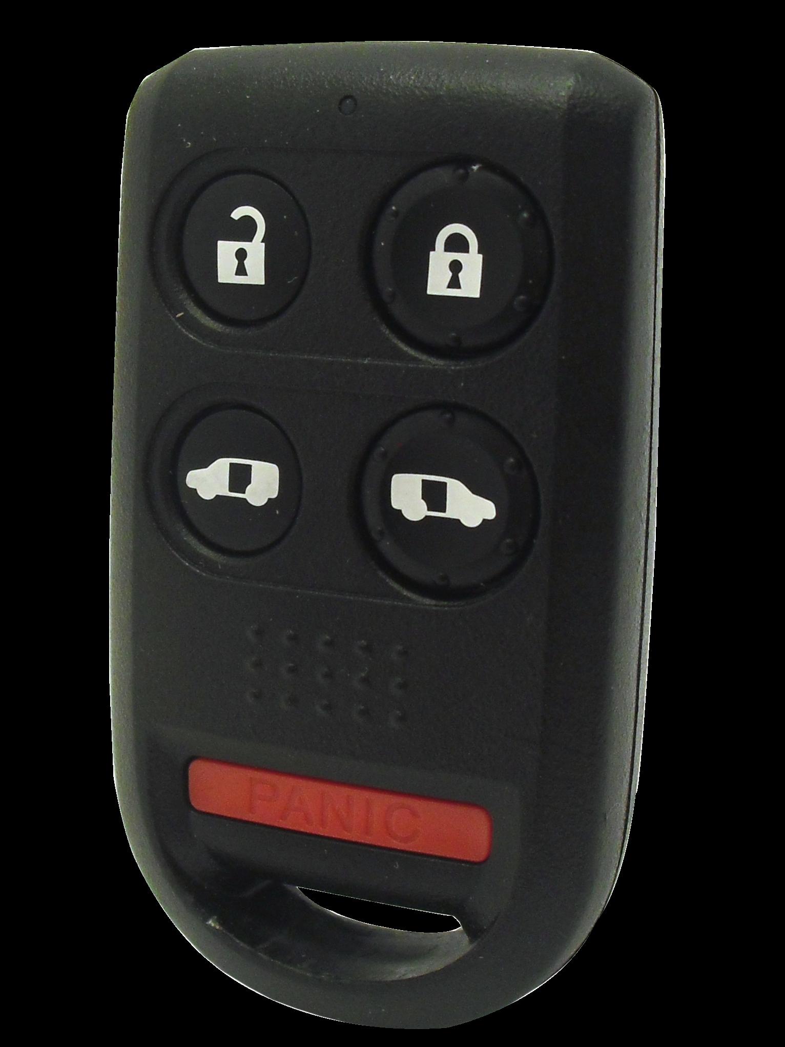 2005-2010 Honda Odyssey Keyless Entry Remote - 5 Button Models w/ Power Doors