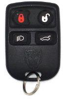 Jaguar Keyless Entry Car Remote - 4 Button w/ Trunk