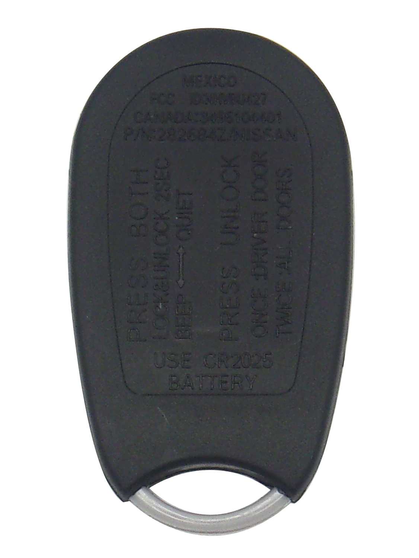 Nissan Keyless Entry Car Remote - 4 Button