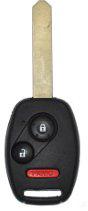 Honda Remote & Key Combo - 3 Button