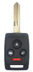 Subaru Remote Head Key Combo - 4 Button