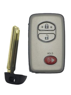 Toyota Remote Entry Smart Key - 3 Button