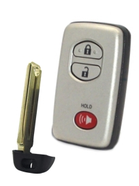 3-Button Smart Key