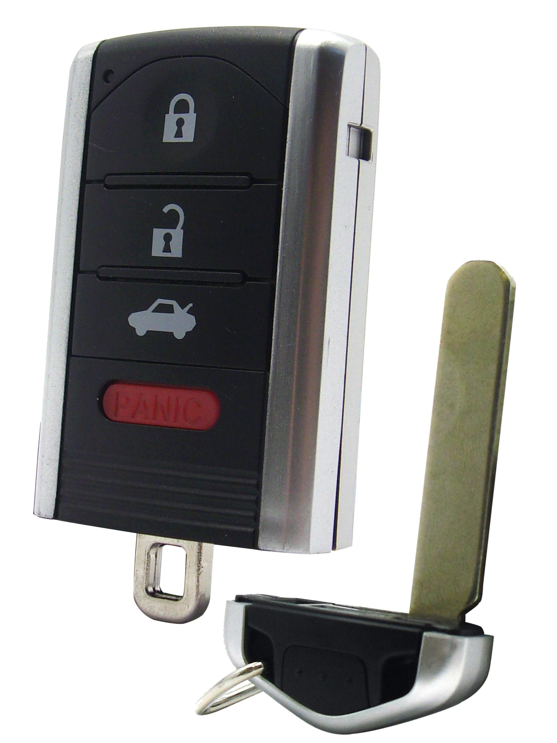Acura Smart Key Remote - 4 Button