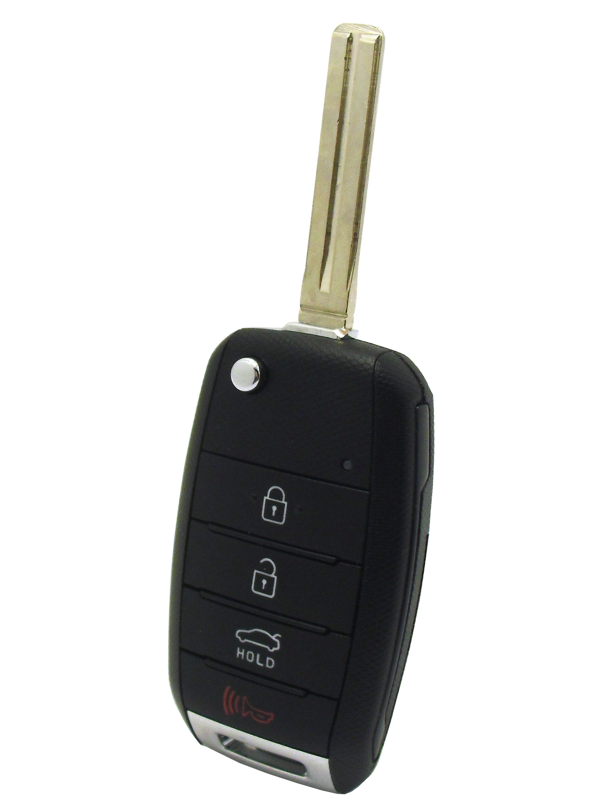 Keyless Entry and Flip Key - 4 Button