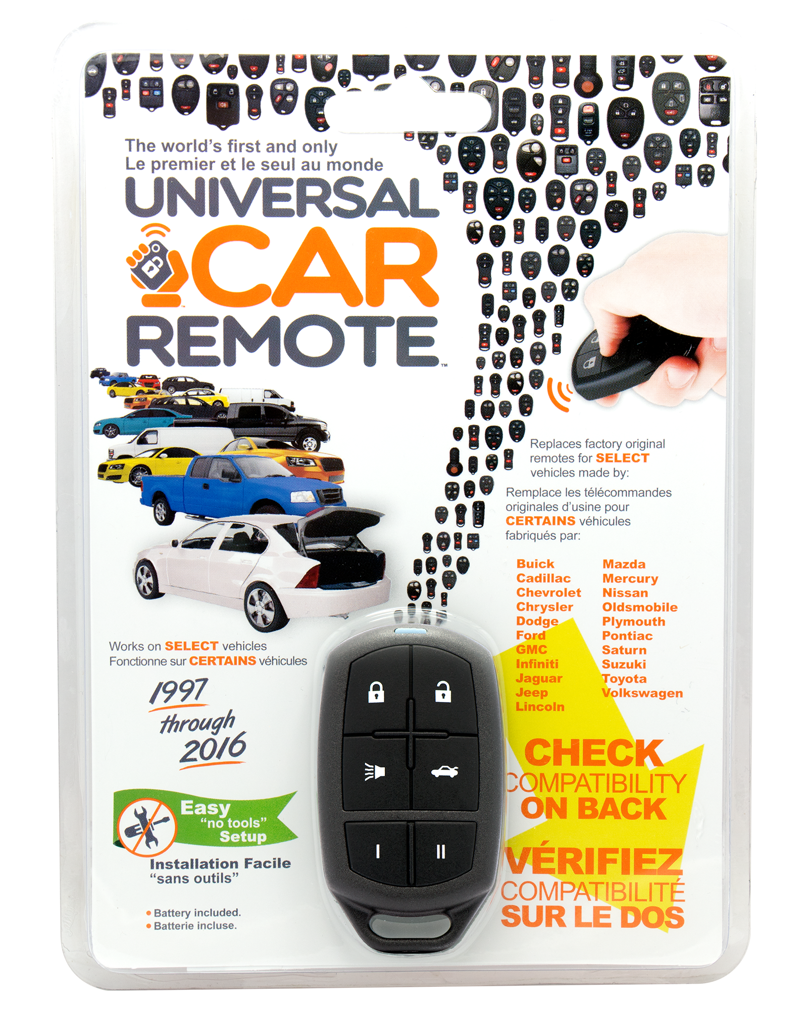 The Universal Car Remote