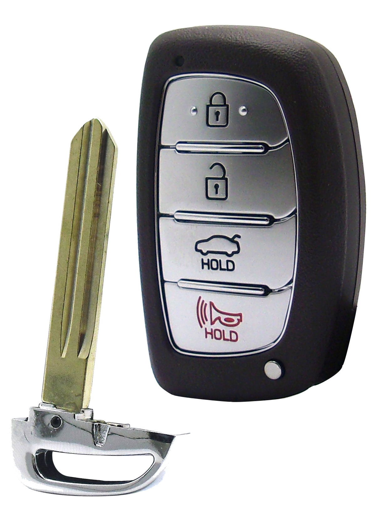 Hyundai Smart Key - 4 Buttons with Trunk