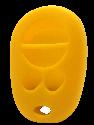 Yellow Toyota Keyless Entry Remote Jacket