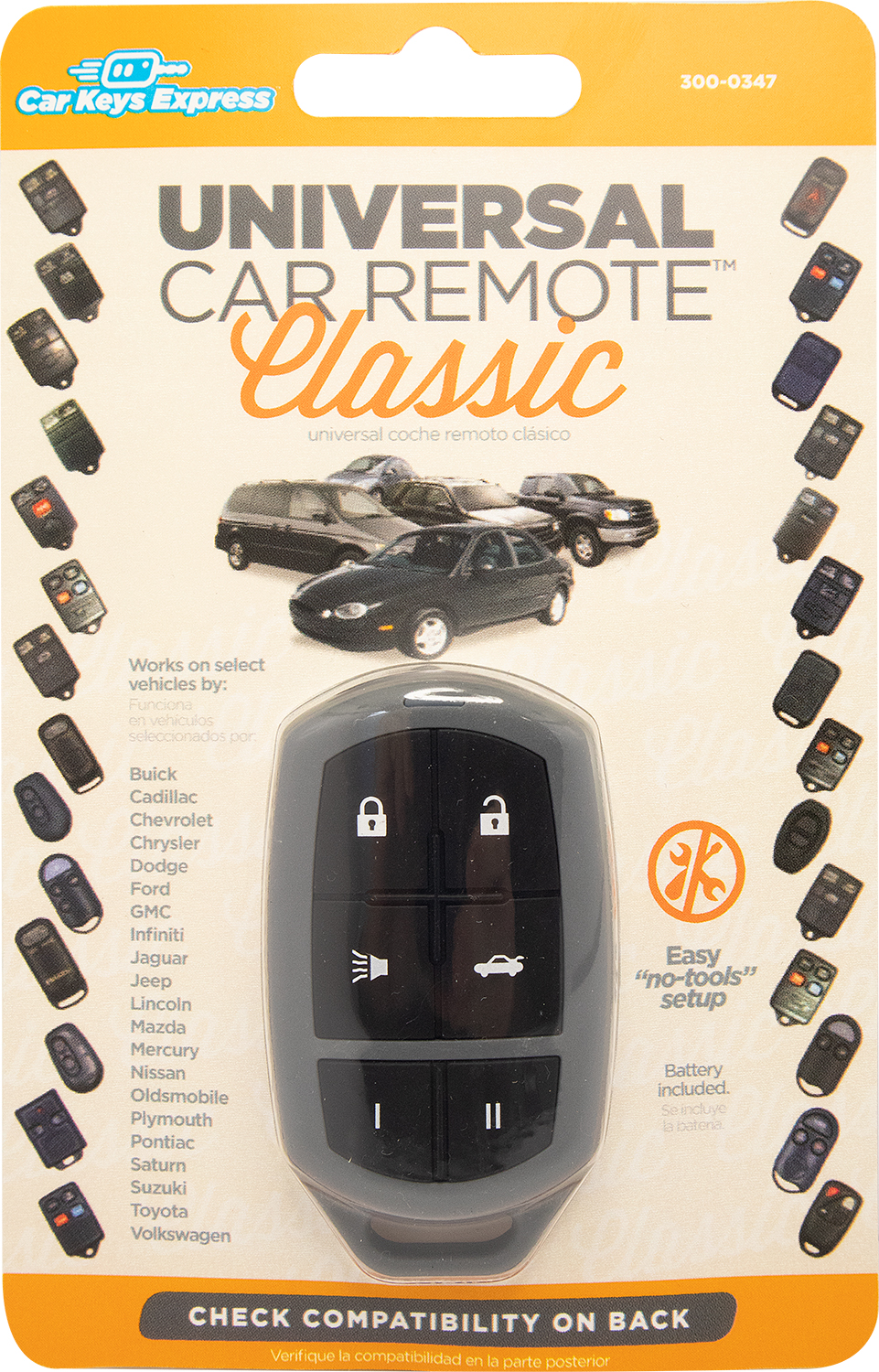 The Universal Car Remote Classic