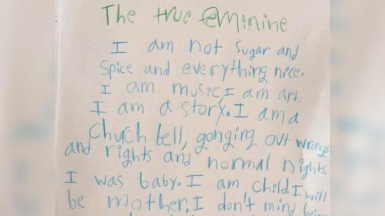3rd grader poem