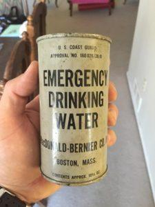 drinking water artifact