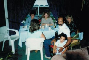drake with parents