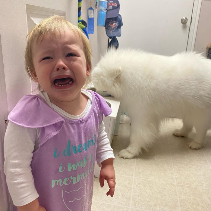Why my kid is crying