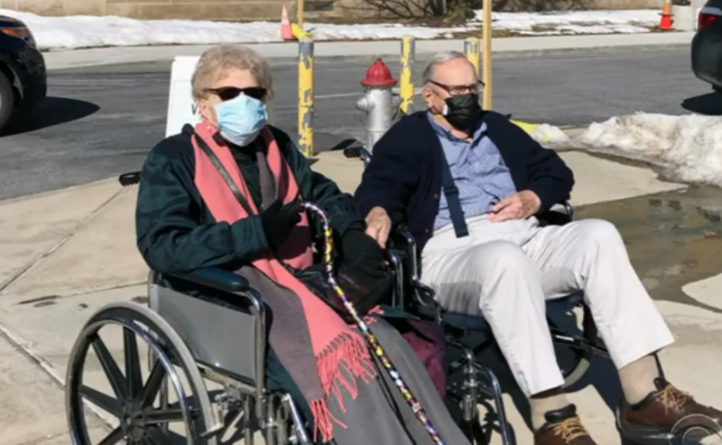 95-Year-Olds Fell in Love and Got Hitched Amid Pandemic