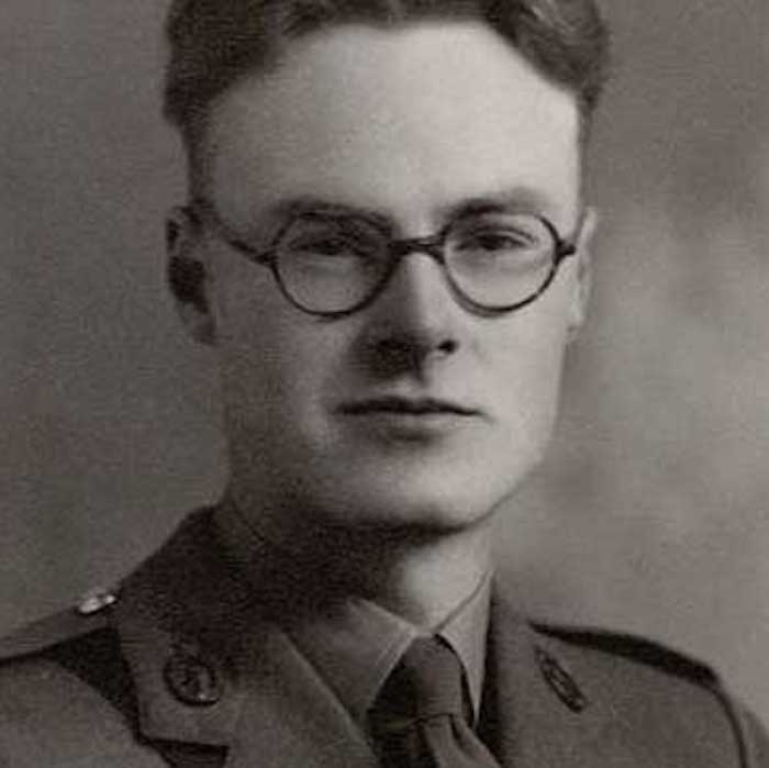 a young british soldier