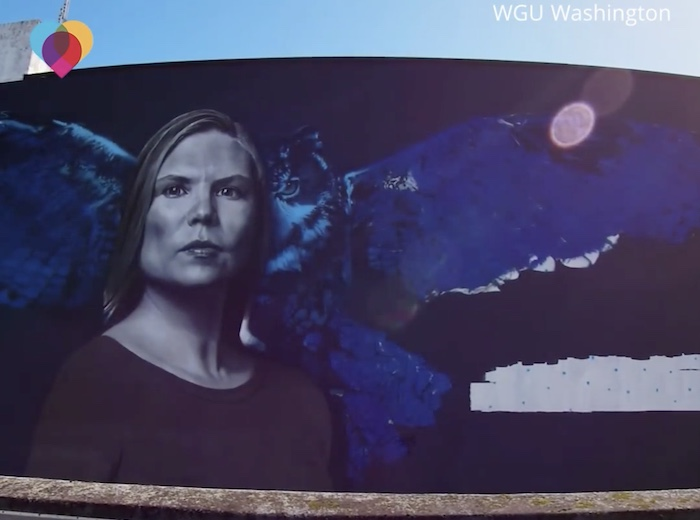 mural of crystal allenton