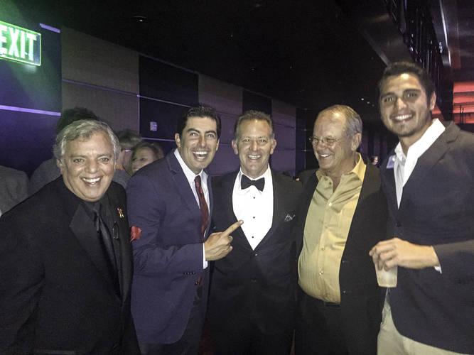 Luciano Cury, Thiago Moraes, Mario Zerlotti, Roger McMahon and Tiago Farias