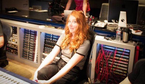Shayna Mor's Recording Session