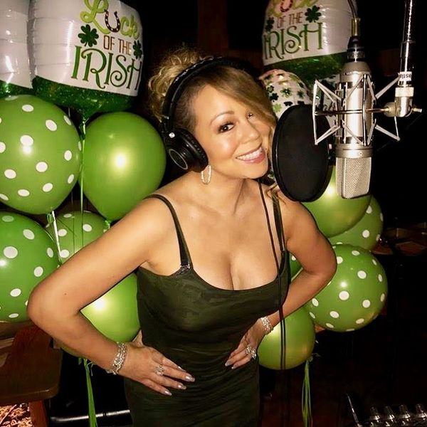Mariah Carey is Back in the Studio!