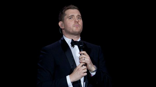 Michael Buble Shuts Down Rumors in Record time.