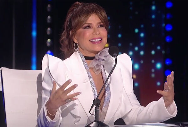 Paula Abdul makes her return to American Idol to fill in for host Luke Bryan