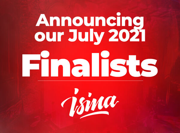 ISINA's July 2021 Finalists are announced!