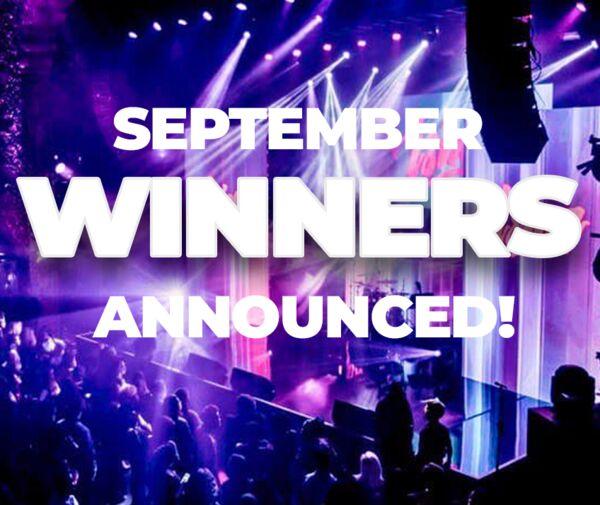 ISINA's September 2021 Winners Announced!