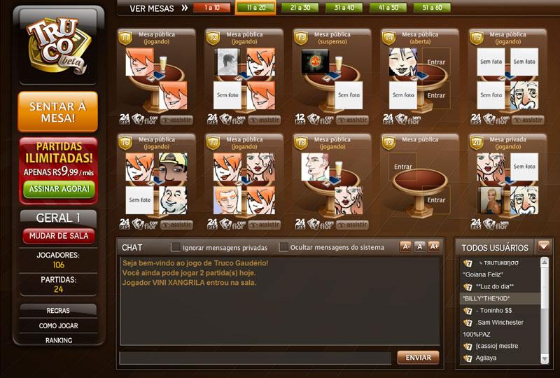 Jogo de truco gauderio online halifax gambling block